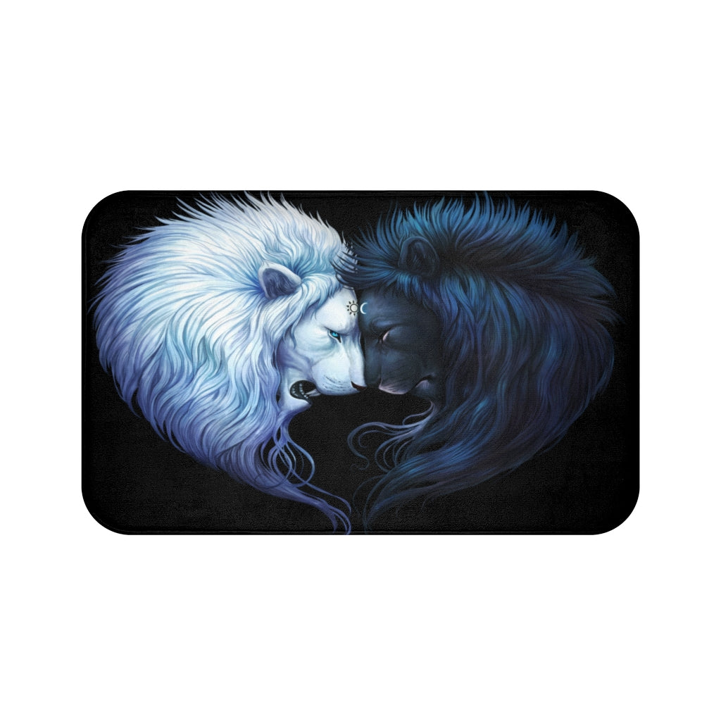 Brotherhood Dark by Jojoes Art Bath Mat