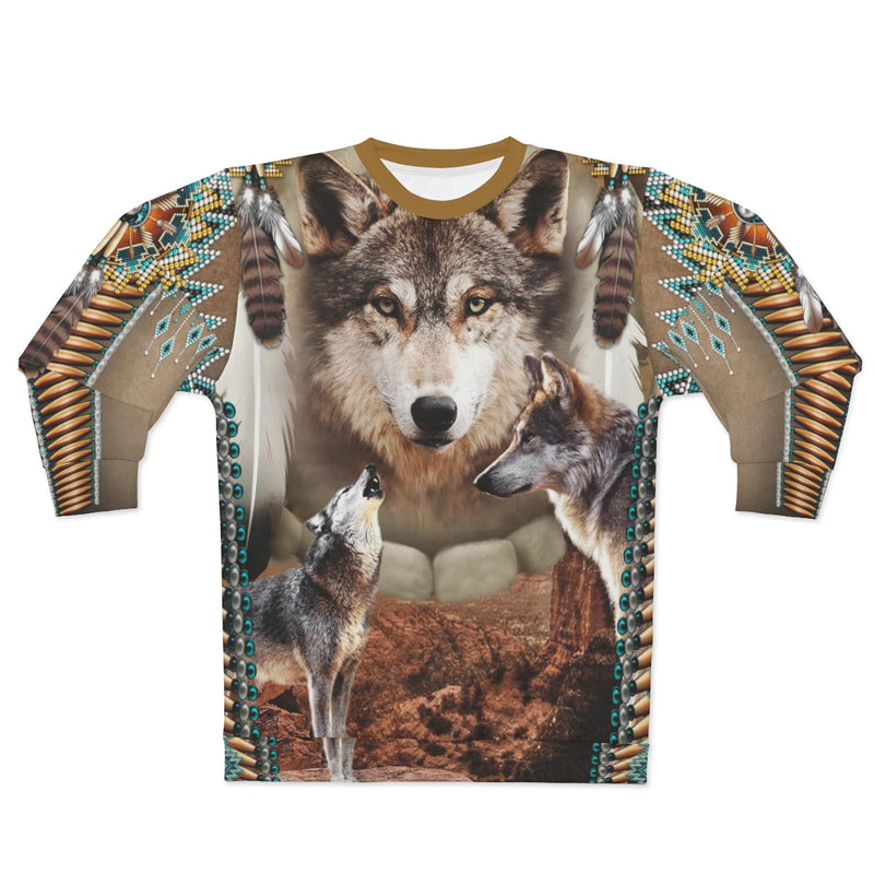 Alpha Spirit All Over Print Sweatshirt