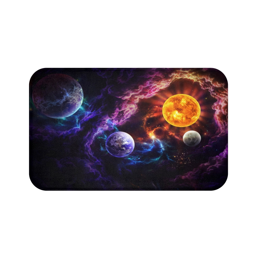 Plan of Salvation by Jojoes Art Bath Mat