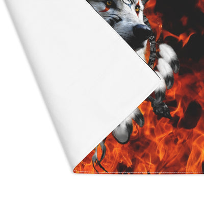 Fire Nation Wolf Flare Placemat