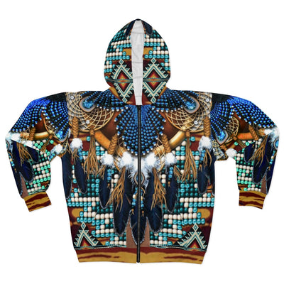 Great Sky Dancer All Over Print Zip Hoodie