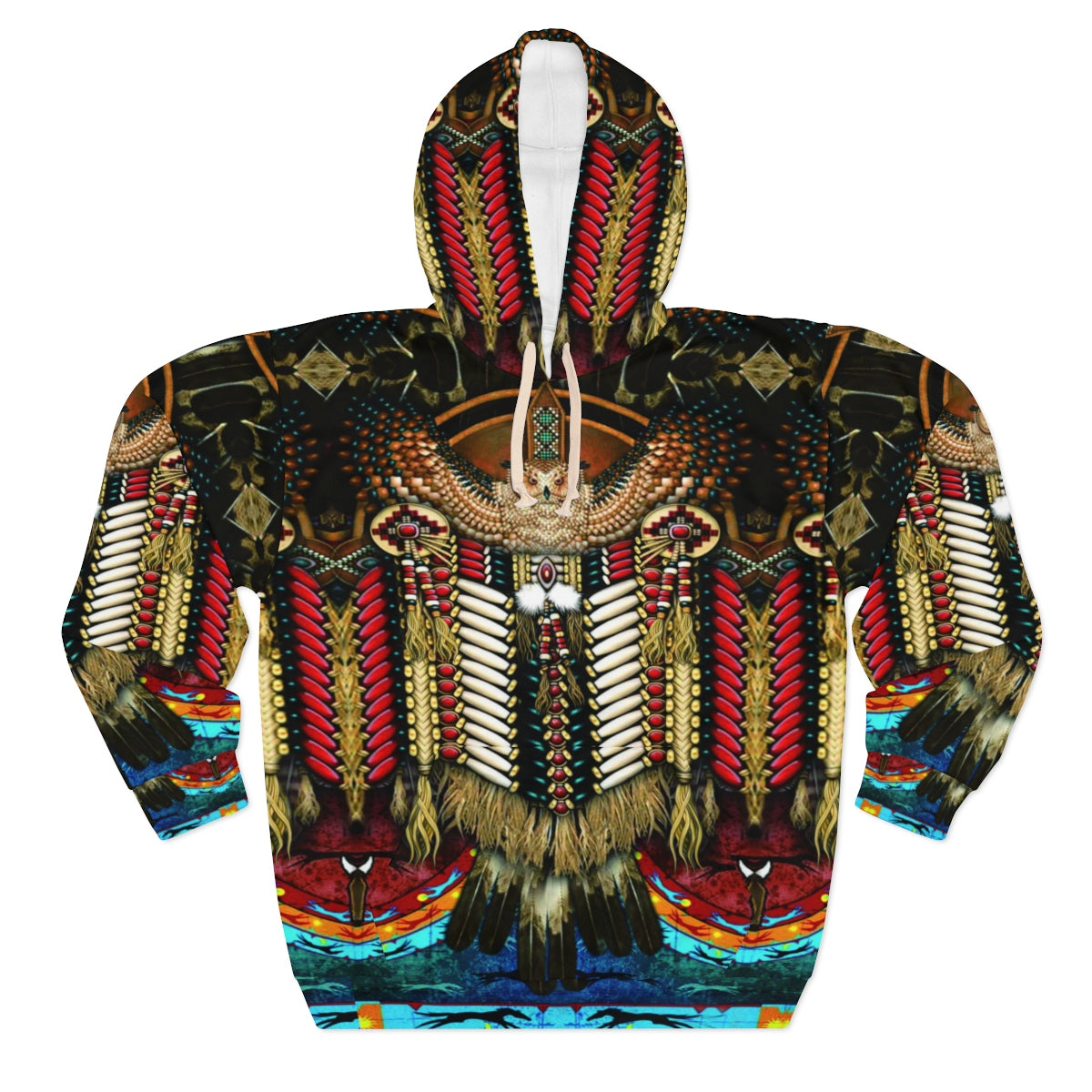 Wise Owl All Over Print Hoodie