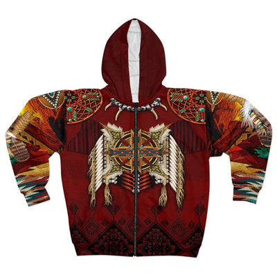 Eagle's Crest All Over Print Zip Hoodie