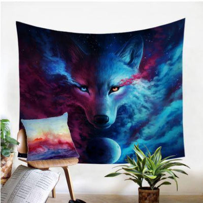 Where Light And Dark Meet by JoJoesArt Tapestry