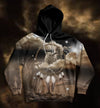 King and Queen of Dreams All Over Print Hoodie