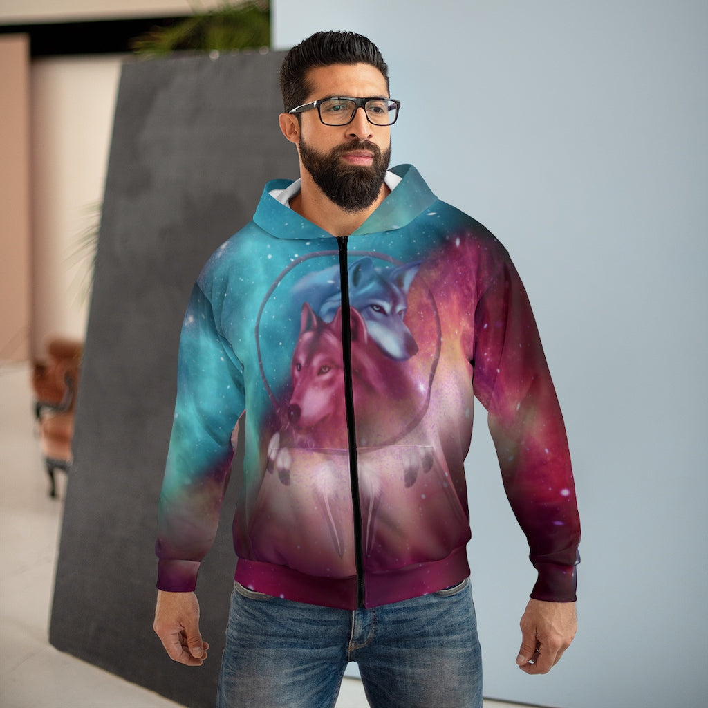 Galaxy Dream Catcher All Over Print Zip Hoodie