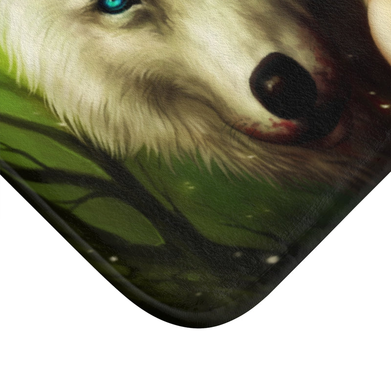 Princess of Mononoke by Jojoes Art Bath Mat