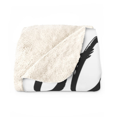 Got Land? Sherpa Fleece Blanket