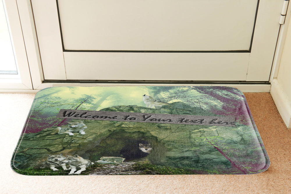 My Wolves' Den Doormat