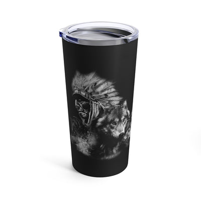 My Wolf, My Spirit Animal Tumbler 20oz