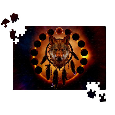 Blood Moon Jigsaw Puzzles