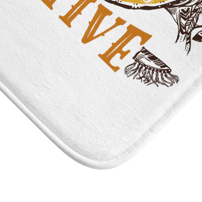 100% Native Heart Bath Mat