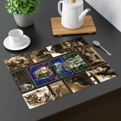 Code of the Wolf 1 Placemat