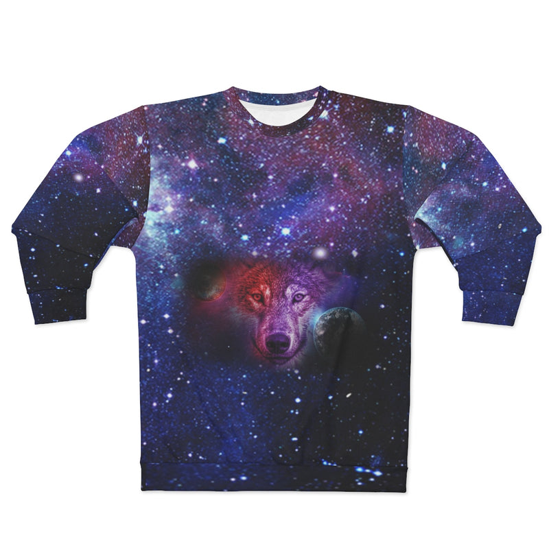 Dream Wolf Moon All Over Print Sweatshirt