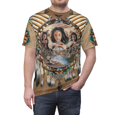 Spirit of the Maiden All Over Print T-shirt
