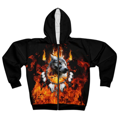 Fire Nation Chief All Over Print Zip Hoodie