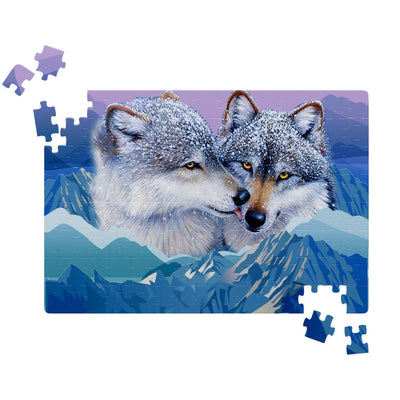 Wolf's Kiss Jigsaw Puzzles