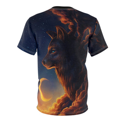 Night Guardian by Jojoes Art All Over Print T-shirt