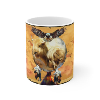 Buffalo Dreamcatcher Mug 11oz