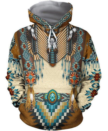 Ancient Knowledge All Over Hoodie