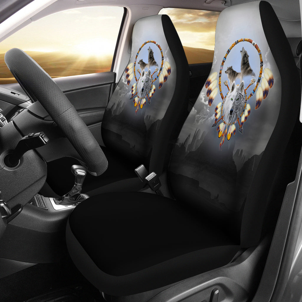 Omega Wolf Car Seat Cover