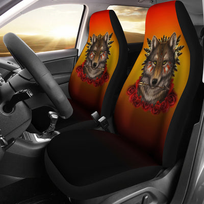 Khalia's Wolf Warrior Car Seat Cover