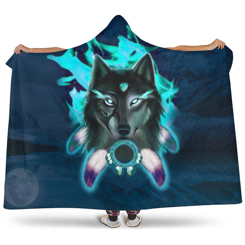 Wakanda Hooded Blanket