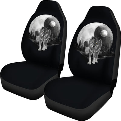 Luna Moon Wolf Car Seat Cover