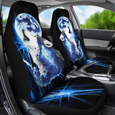 Moon Wolf Car Seat Cover by Scandy Girl