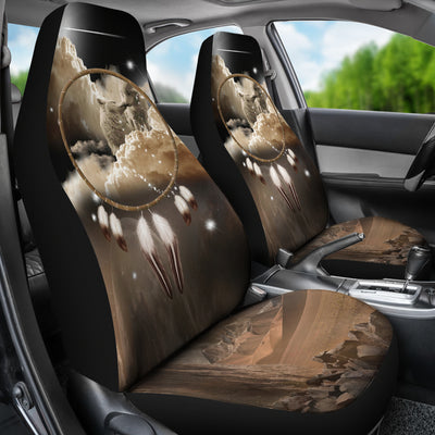 King and Queen of Dreams Car Seat Cover