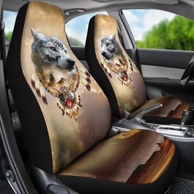 Song of the Elder Warrior Car Seat Cover