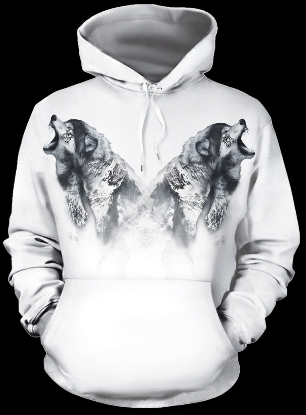 Mountain Howler All Over Print Hoodie