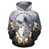 Omega Wolf All Over Print Hoodie