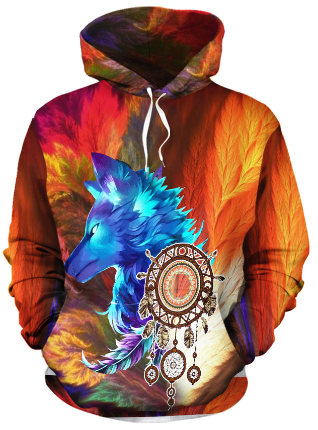 Storm Wolf Pullover Hoodie