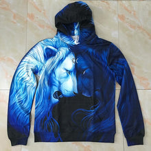 Load image into Gallery viewer, Brotherhood by JoJoesArt Lion Hoodies 3D