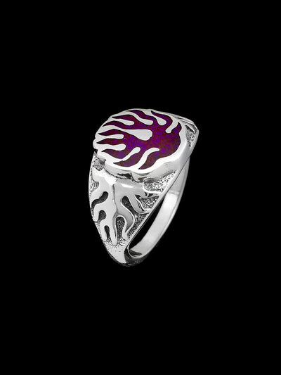 Vibrant Flame Ring