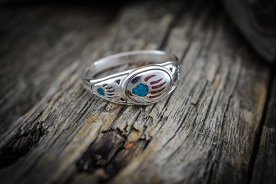 Wild Paw Sterling Silver Ring