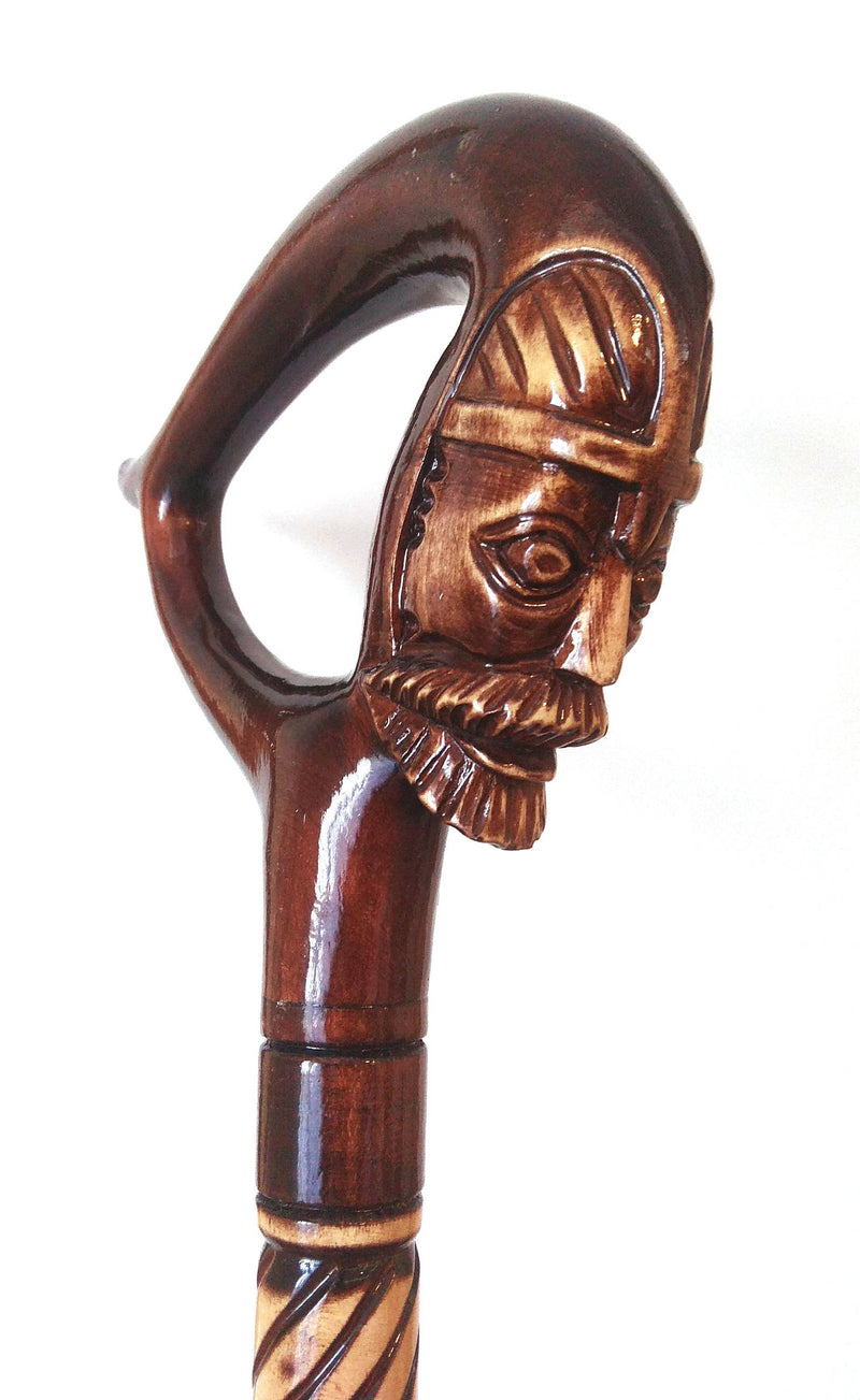 Knight Wooden Cane