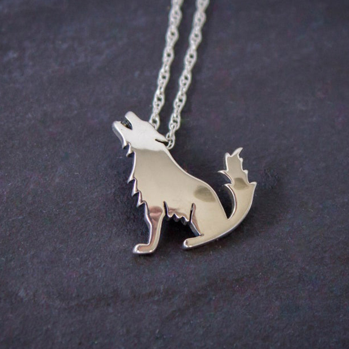 The Protector Wolf Necklace