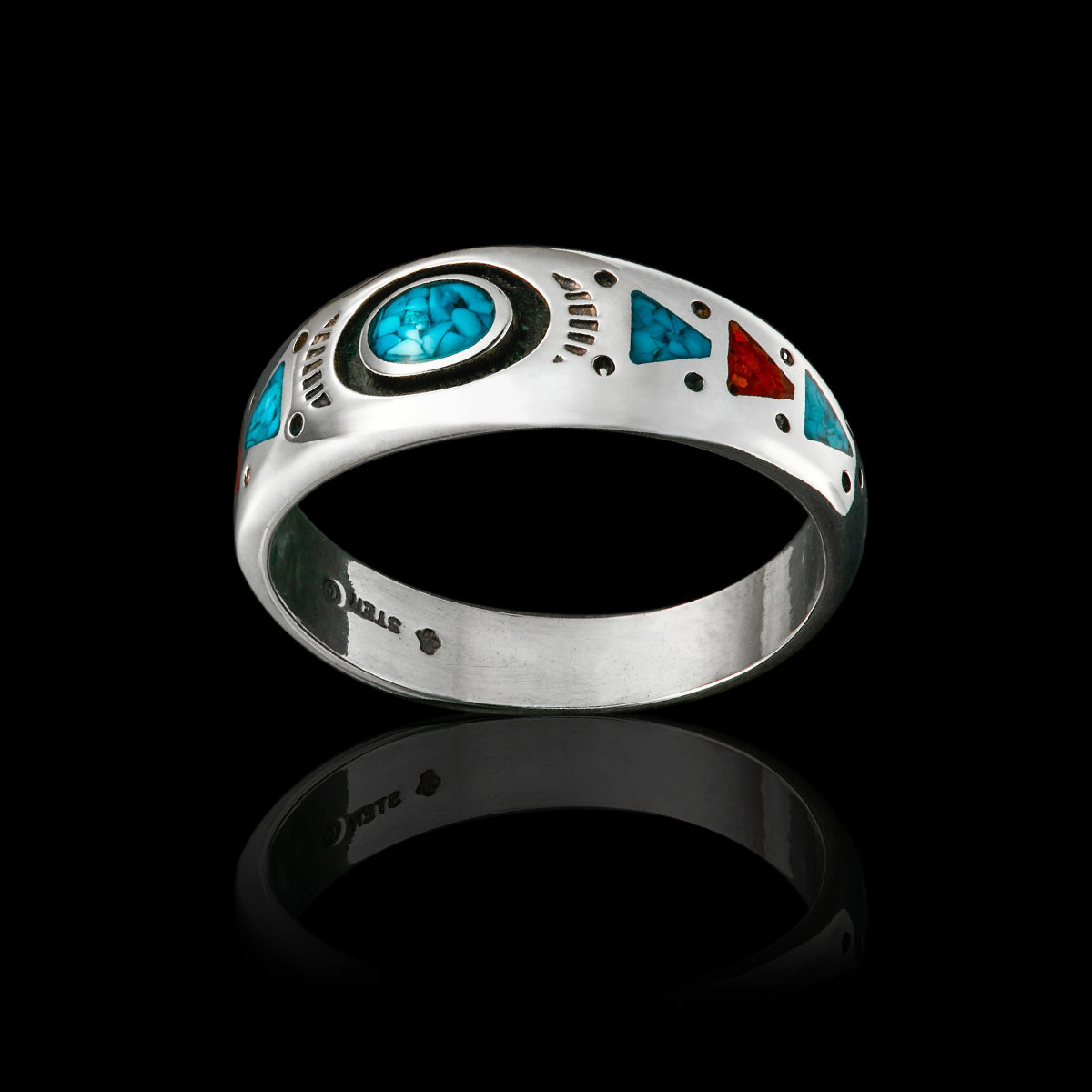 The American Native™ Ring 925 Sterling Silver