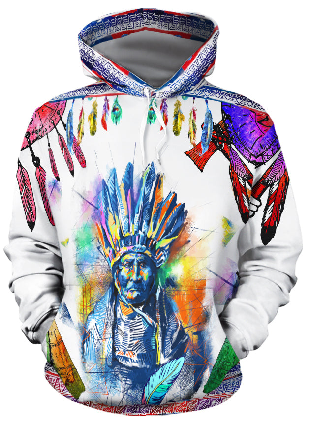 Colors of the Wind All Over Print Hoodie