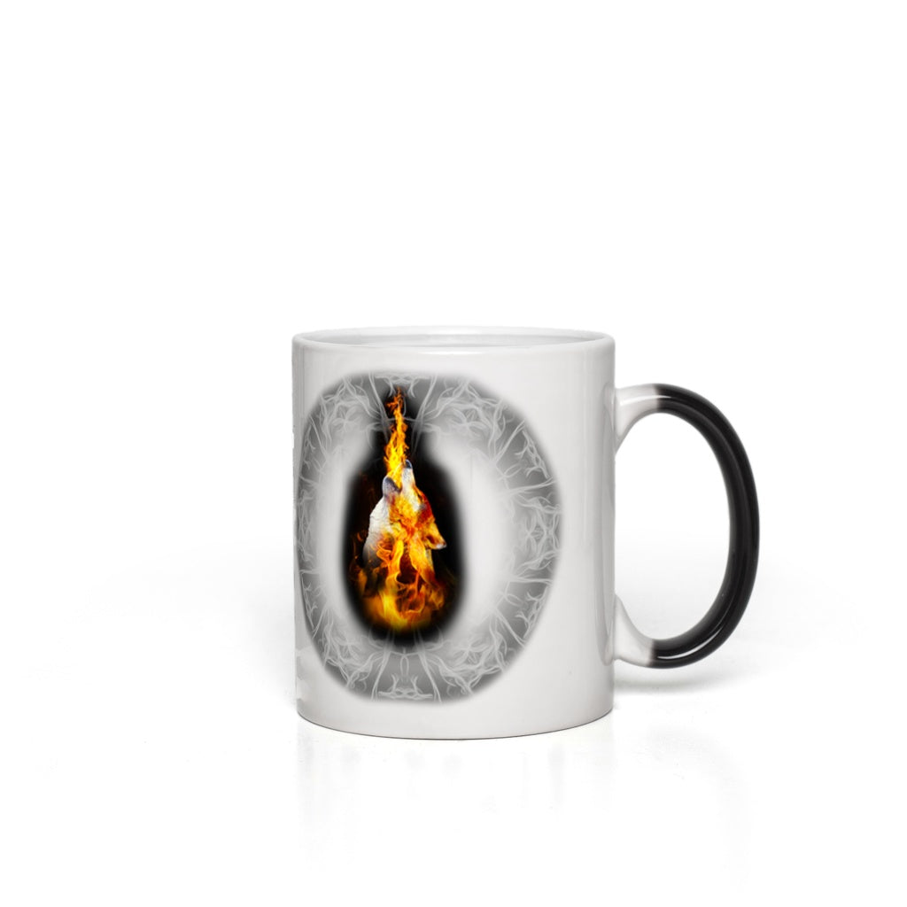 Fire Blazing Magic Mugs