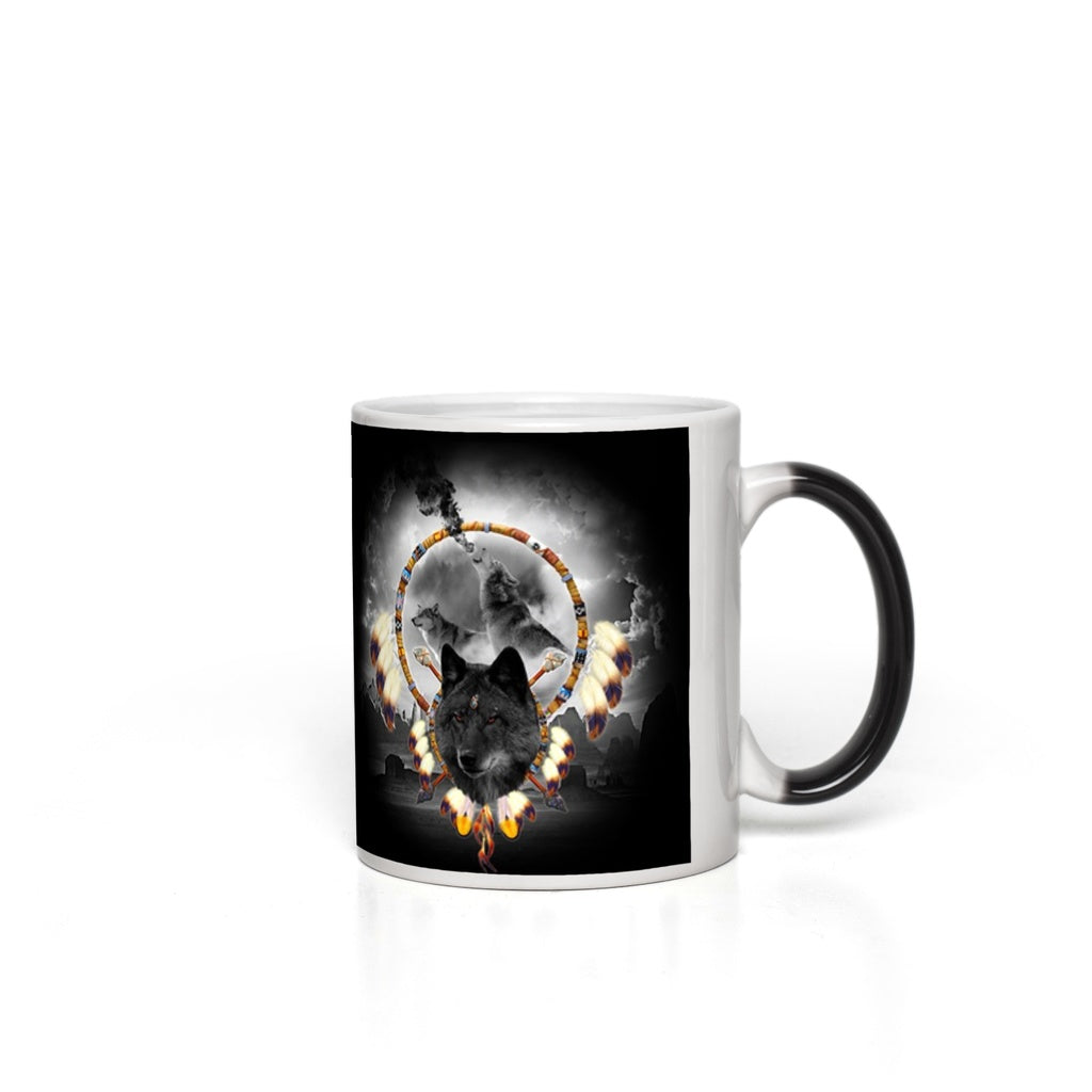 Alpha Wolf Magic Mugs