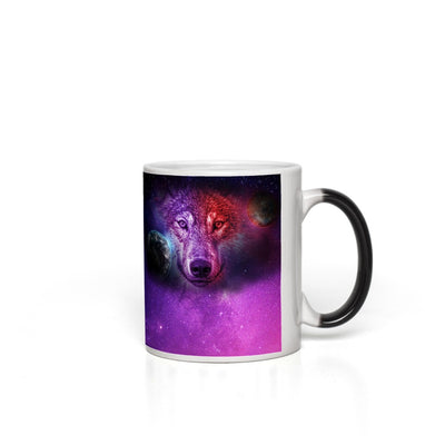 Dream Moon Wolf Magic Mugs