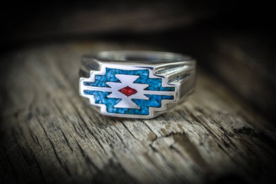 Native American Zia™ Statement Ring