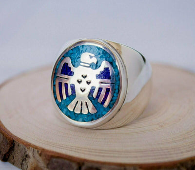 Thunderbird Shot Ring