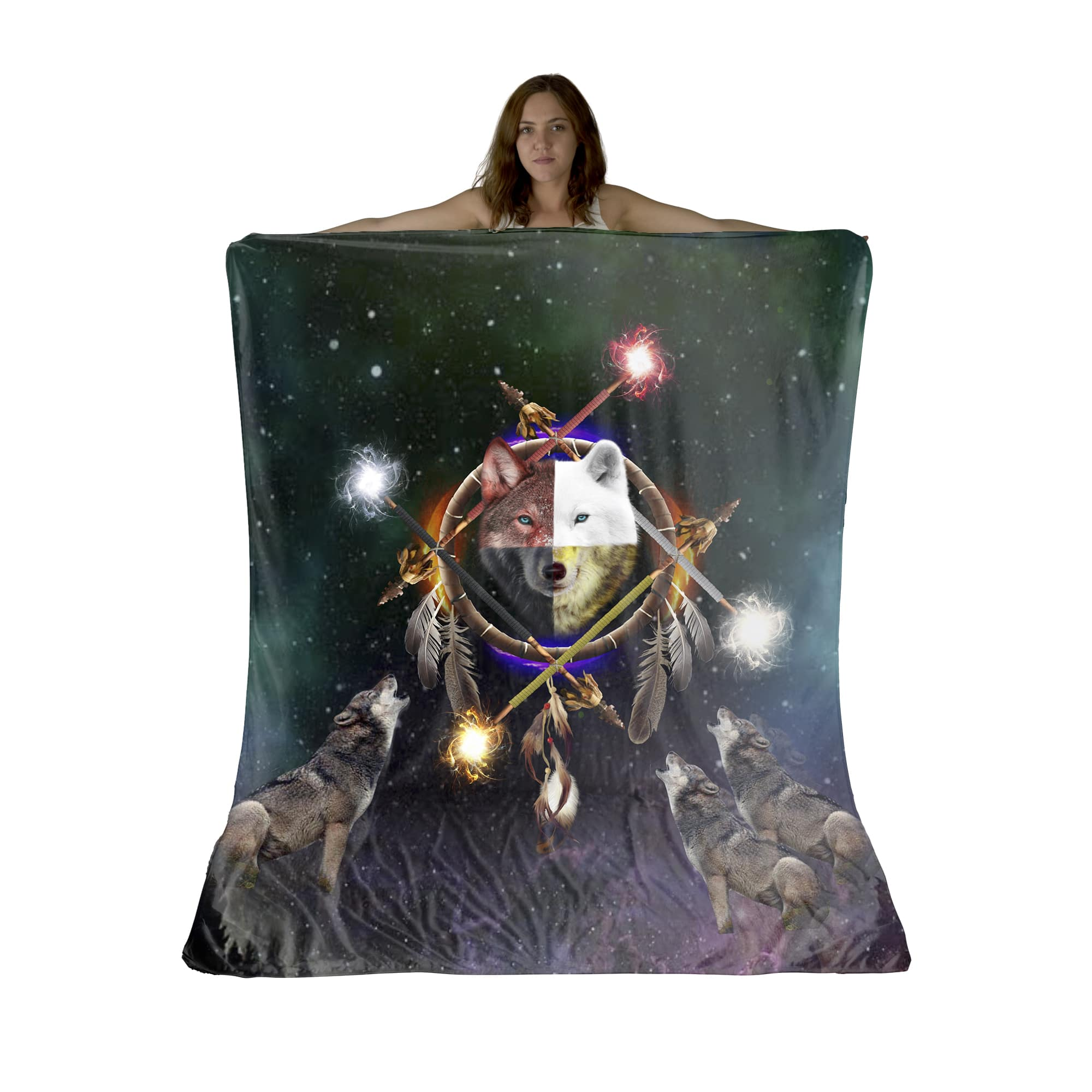 4 Ages Sherpa Fleece Blanket