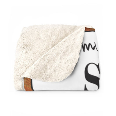 The Wolf Heritage Sherpa Fleece Blanket Collection