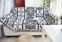 Load image into Gallery viewer, Aztec Sofa Throw Cover