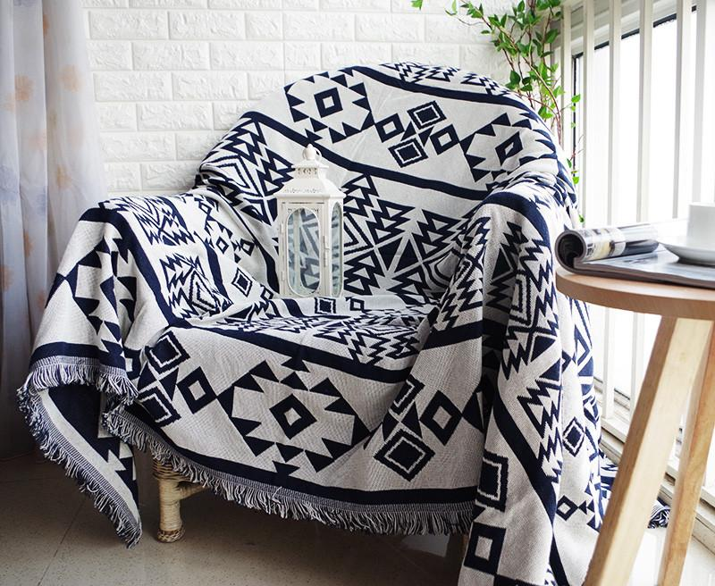 Aztec Sofa Throw Cover